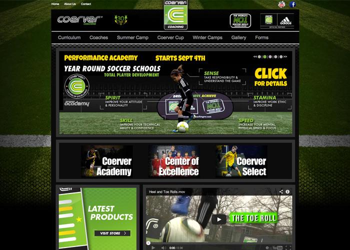 Coerver Minnesota Web Design