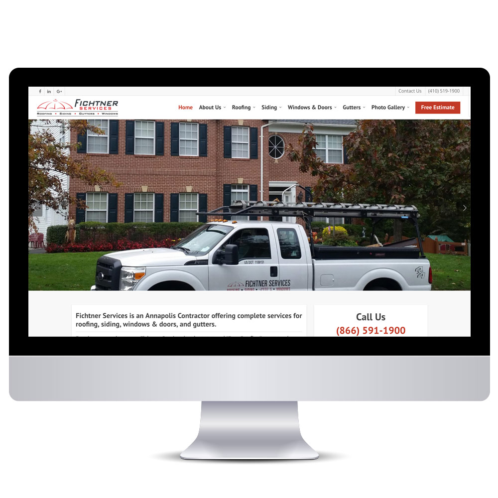 Wordpress Web Design - Roofing Websites