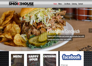 Annapolis Smokehouse Wordpress Website
