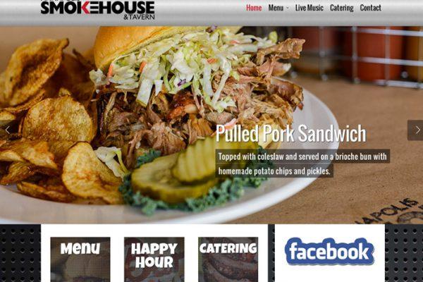 Annapolis Smokehouse Wordpress Website