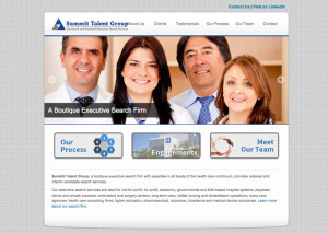 Summit Talent Group Web Design